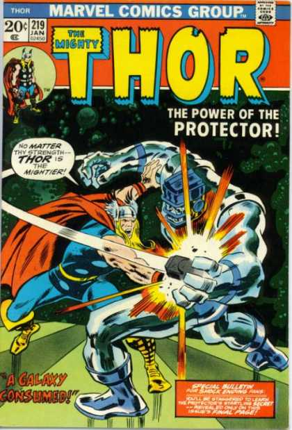 Thor 219 - Mightier - Strength - Muscles - Fighting - Wings