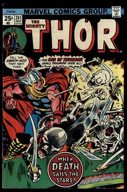 Thor 241 - God - Thunder - Death - Sails - Stars