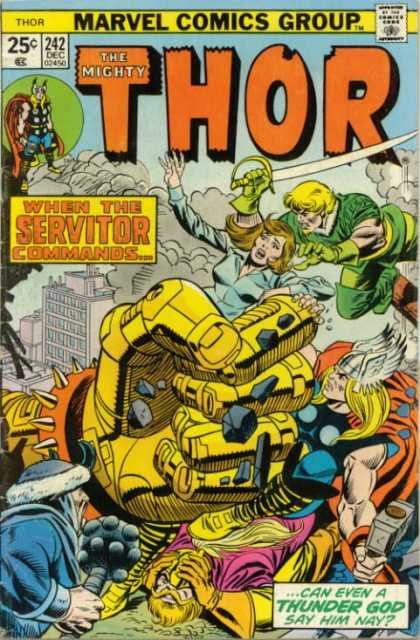 Thor 242 - Mighty - Marvel - Marvel Comics - 242 - Dec