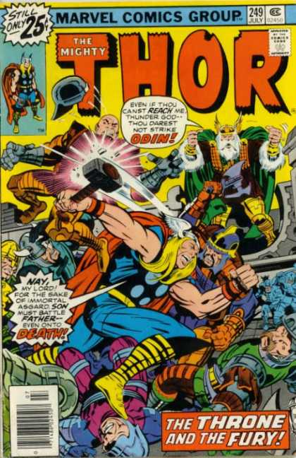Thor 249 - Marvel - Marvel Comics - Odin - Death - Thunder God