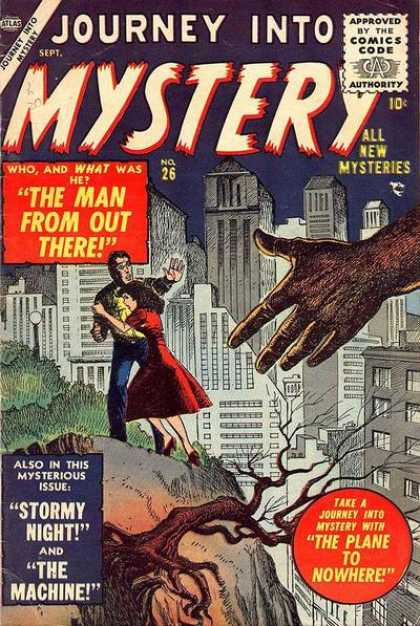 Thor 26 - Stormy Night - City - Hand - Tree - The Man From Out There