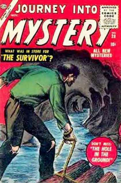 Thor 28 - Cave - Journey - Mystery - The Survivor - The Hole In The Ground
