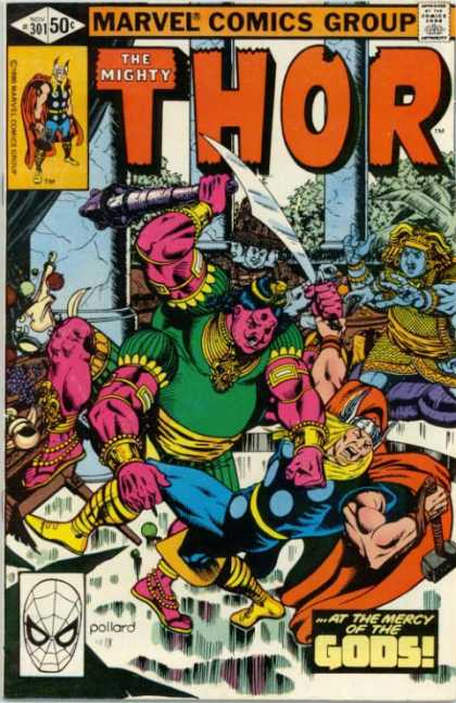 Thor 301 - Sword - Marvel Comics - Viking - Hindu - Club