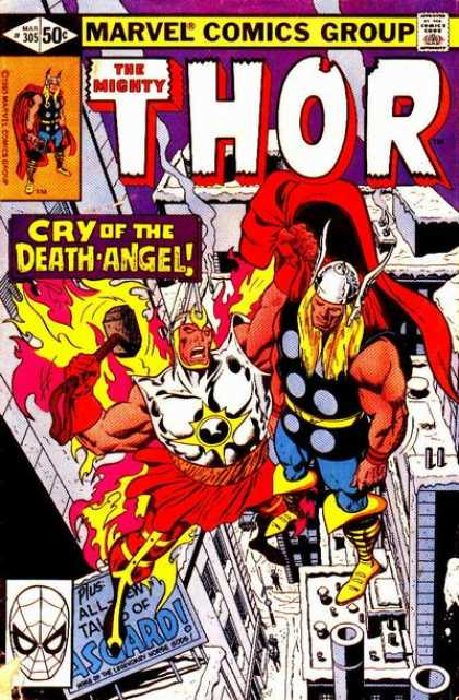 Thor 305 - Death Angel - Flames - Protection - Good - Bad