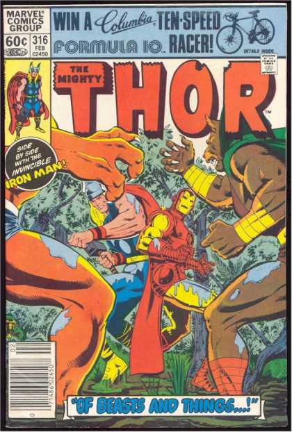 Thor 316 - The Rulers Fight - Who Will Win The Fight - Whoz World It Is - Blodd Thirsty - We 4