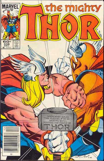 Thor 338 - Beta Ray Bill - Walter Simonson