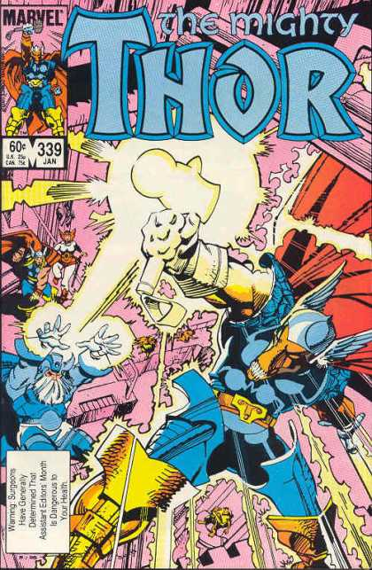 Thor 339 - Beta Ray Bill - Walter Simonson
