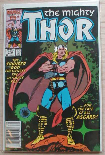 Thor 370 - Asgard - Space - The Mighty - Marvel - 25 Th Anniversary - John Buscema
