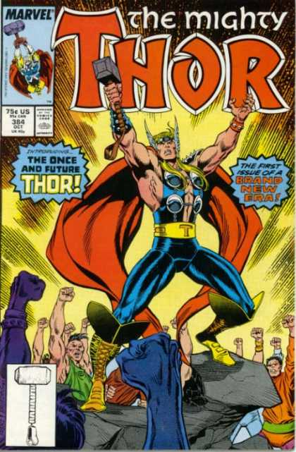 Thor 384 - Fire - People - Stone - Cape - Smoke