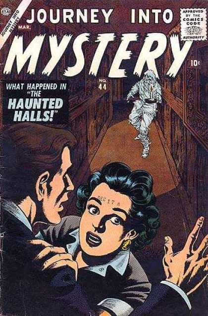 Thor 44 - Ghost - Hallway - What Happened In The Haunted Halls - Frightened Woman - Frightened Man