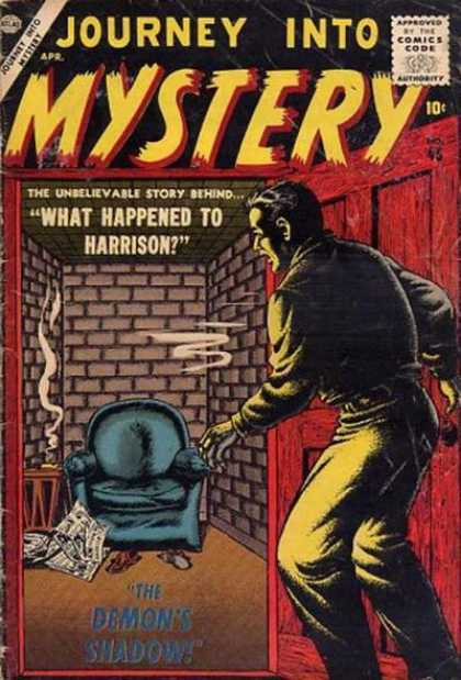 Thor 45 - Chair - What Happened To Harrison - Brick Wall - Smoke - Newspaper