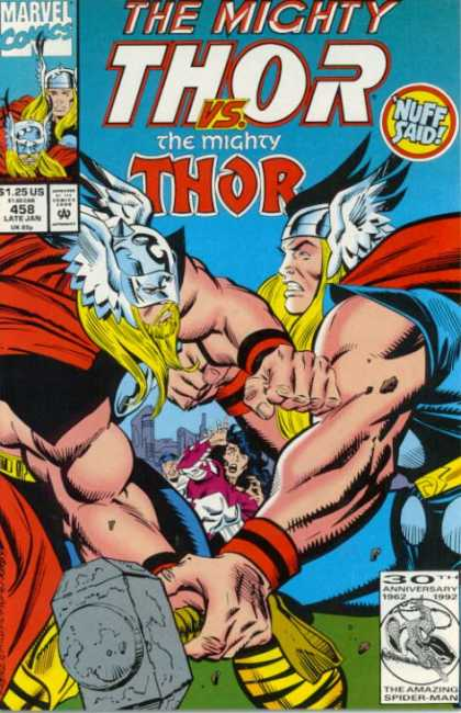 Thor 458 - Hammer - Helmet - No 458 - Muscles - Capes