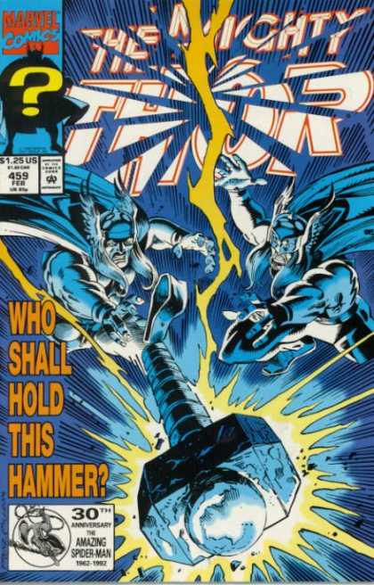 Thor 459 - Mighty - Marvel - Hammer - Rip - Question