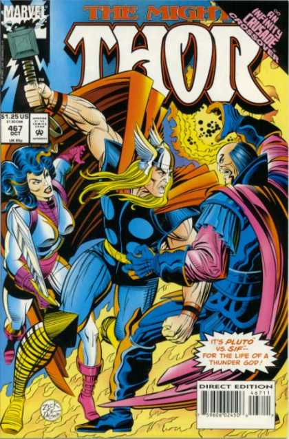 Thor 467 - Sif - Pluto - Hammer - Infinity Crusafe Crossover - Thor