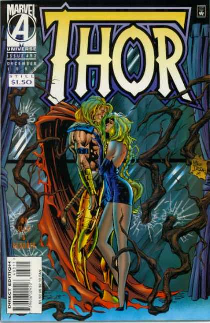 Thor 493 - December - Mike Deodato Jr - Blonde - Direct Edition - High Heels - Deodato Fiho