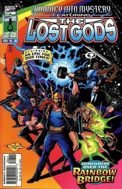 Thor 503 - Marvel - The Lost Gods - Journey Into Mystery - Rainbow Bridge - Nov 96