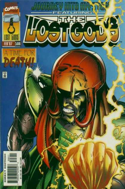 Thor 506 - Journey Into Mystery - The Lost Gods - A Time For Death - Marvel Comics - Super Heroes