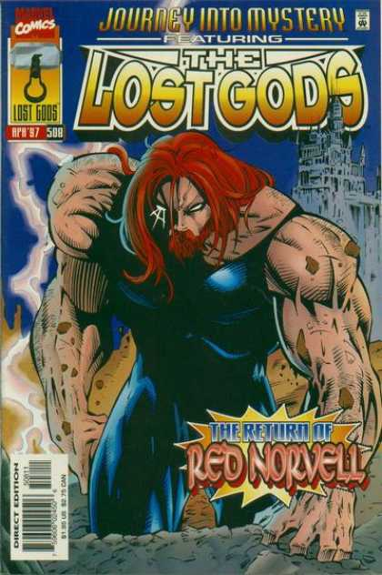 Thor 508 - Red Norvell - The Lost Gods - Journey Into Mystery - Marvel Comics - Redhead