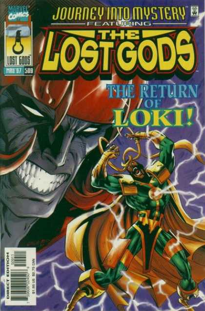Thor 509 - Loki - Cape - Scream - Electicity - Teeth