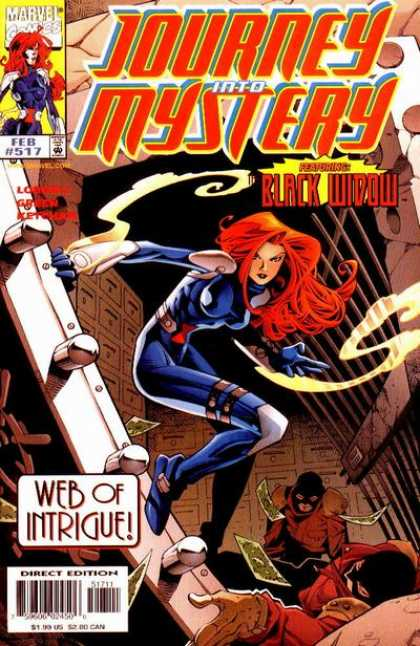 Thor 517 - Black Widow - Vault - Marvel Comics - Journey Into Mystery - Web Of Intrigue