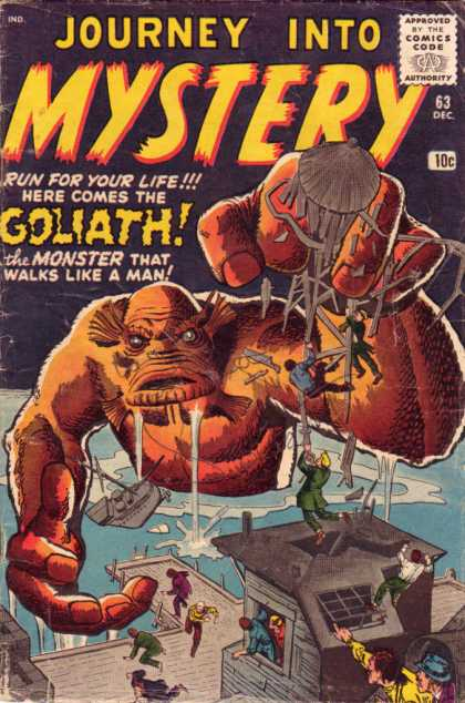 Thor 63 - Goliath - Journey Into Mystery - Monster - Dock - Water