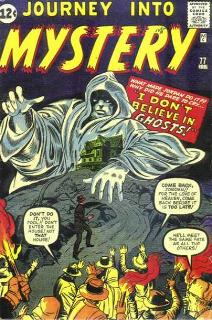 Thor 77 - Ghosts - Mystery - Haunted - Jordan - House