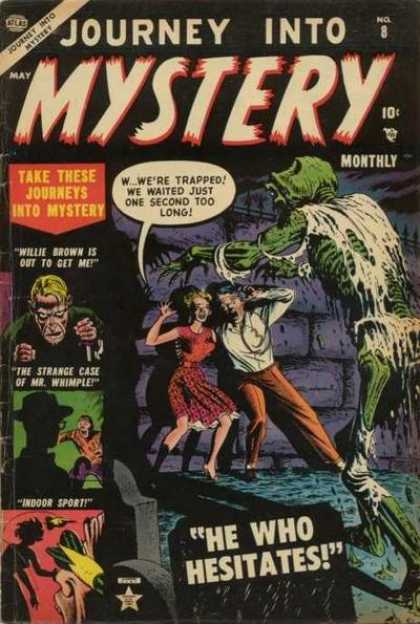 Thor 8 - Journey Into Mystery - Willie Brown - Mr Whimple - He Who Hesitates - Skelton Attacking Couple