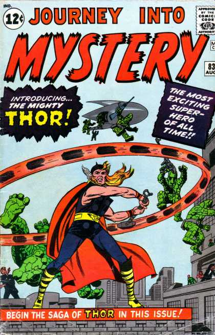 Thor 83 - Journey Into Mystery - Marvel - Marve Comics - Super Hero - Mighty Thor