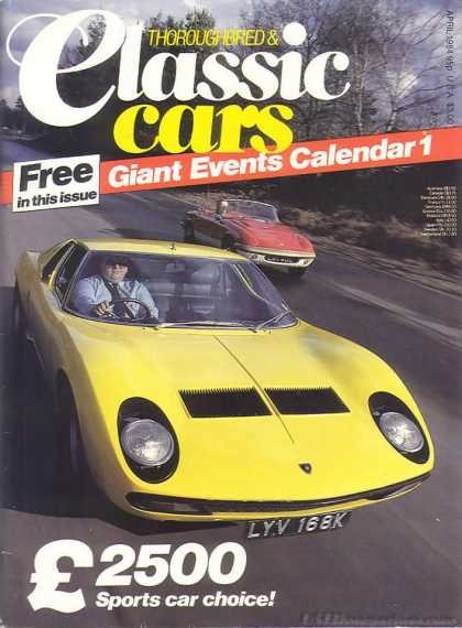 Thoroughbred & Classic Cars - April 1984