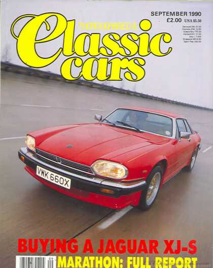 Thoroughbred & Classic Cars - September 1990