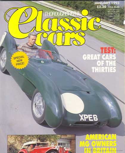 Thoroughbred & Classic Cars - January 1993