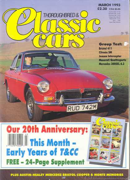 Thoroughbred & Classic Cars - March 1993