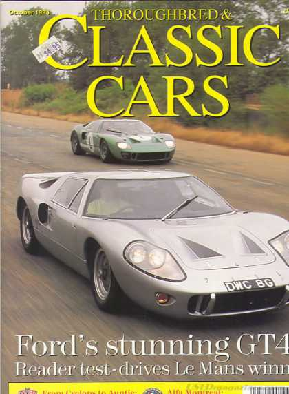 Thoroughbred & Classic Cars - October 1994