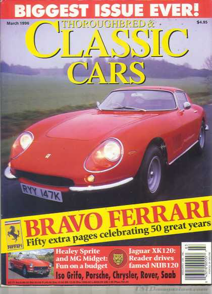 Thoroughbred & Classic Cars - March 1996