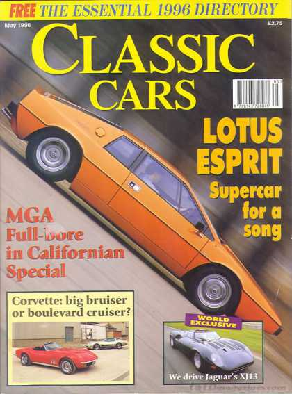Thoroughbred & Classic Cars - May 1996
