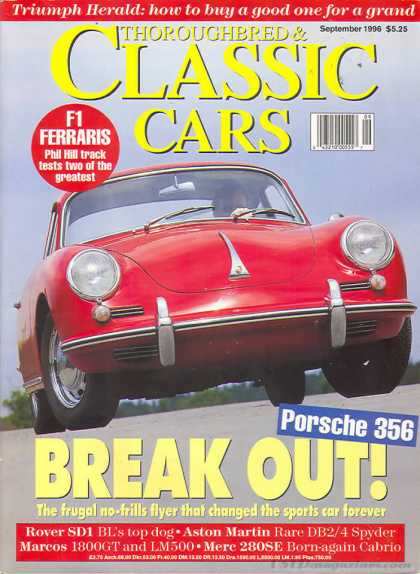 Thoroughbred & Classic Cars - September 1996