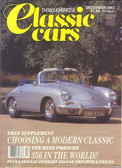 Thoroughbred & Classic Cars - December 1987