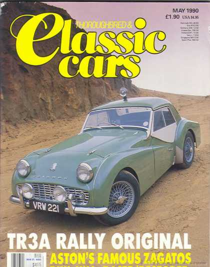 Thoroughbred & Classic Cars - May 1990