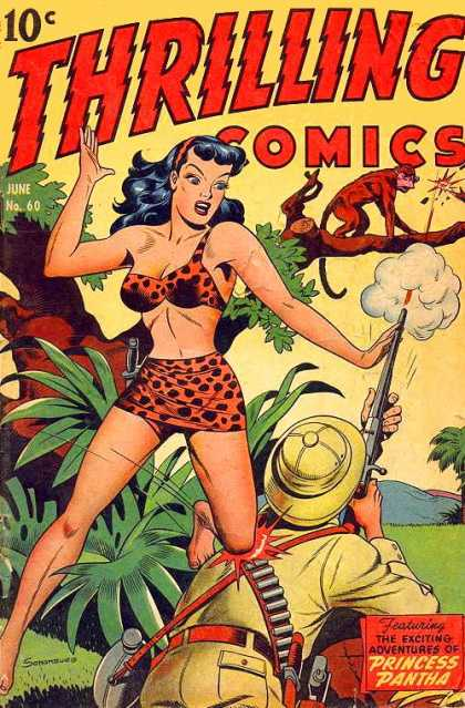 Thrilling Comics 60