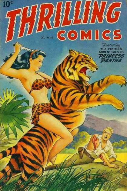 Thrilling Comics 62