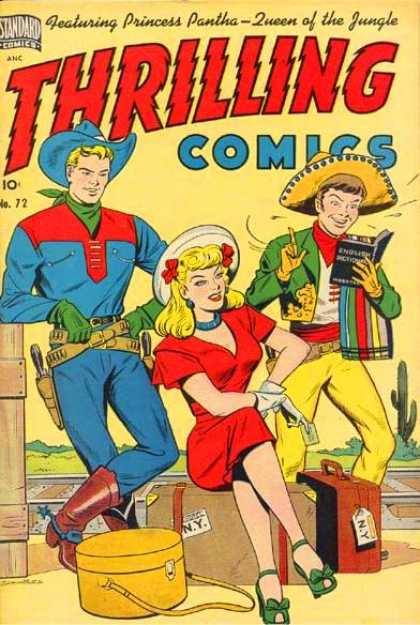 Thrilling Comics 72