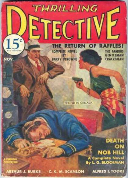 Thrilling Detective 25