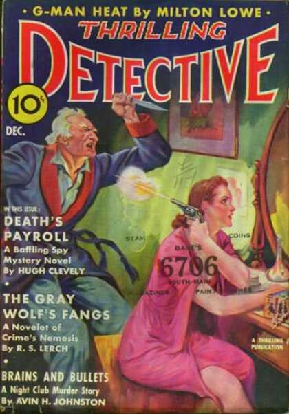 Thrilling Detective 44