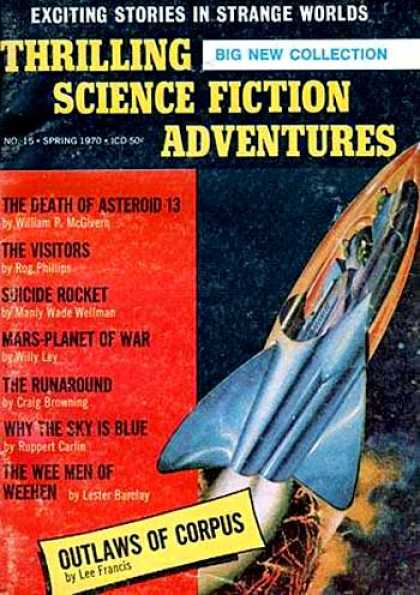 Thrilling Science Fiction - Spring 1970