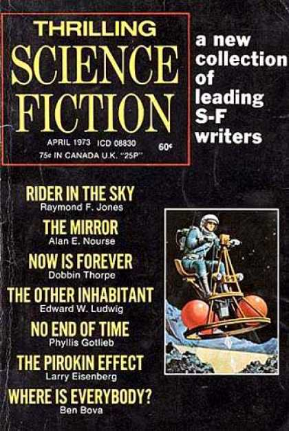 Thrilling Science Fiction - 4/1973