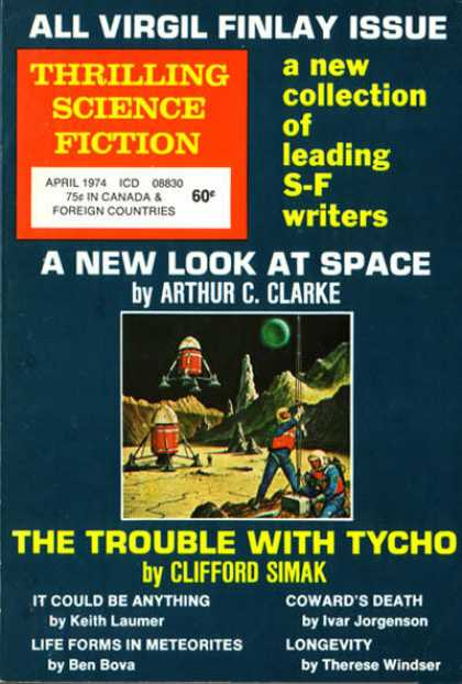 Thrilling Science Fiction - 4/1974