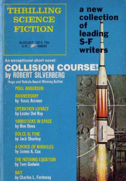 Thrilling Science Fiction - 8/1974