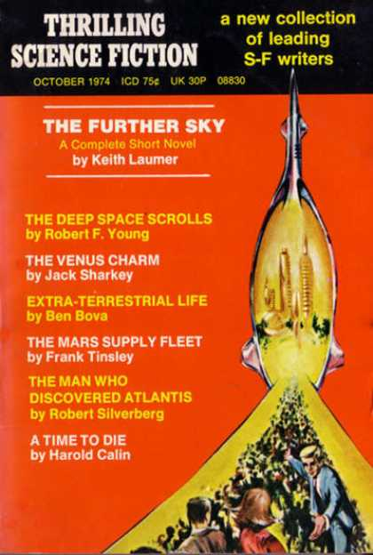Thrilling Science Fiction - 10/1974