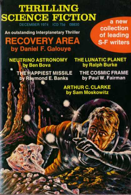 Thrilling Science Fiction - 12/1974