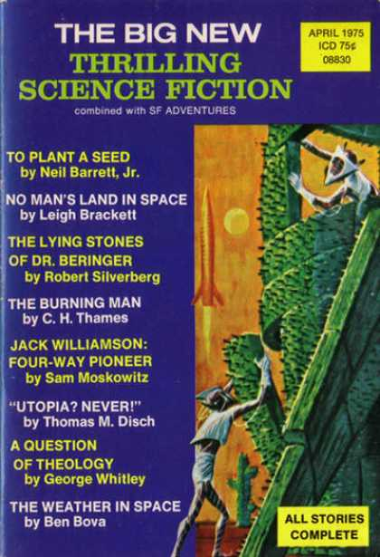 Thrilling Science Fiction - 4/1975